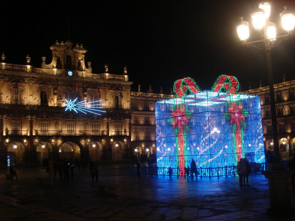El regalito que hay en la plaza mayor de Salamanca