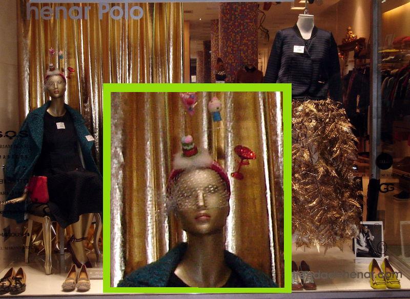 Maniquí hortera en tienda de Salamanca