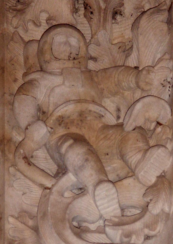 La foto del puto astronauta de la catedral de Salamanca